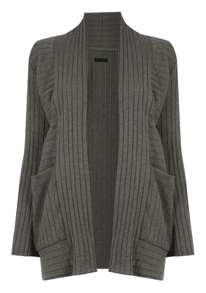 Osklen textured cardigan - Grey