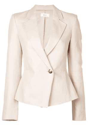 A.L.C. single button fitted blazer - Brown