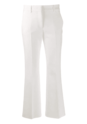 MSGM tailored trousers - White