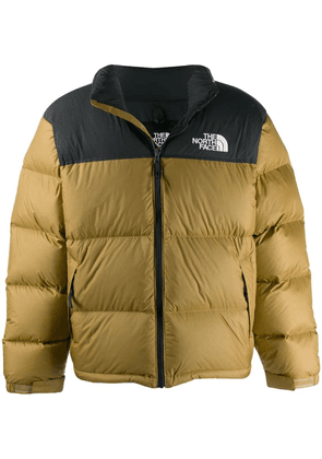 The North Face logo puffer jacket - Neutrals