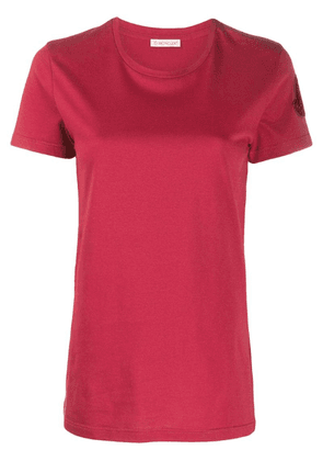 Moncler round neck T-shirt - Red