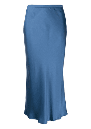 Anine Bing fitted midi skirt - Blue