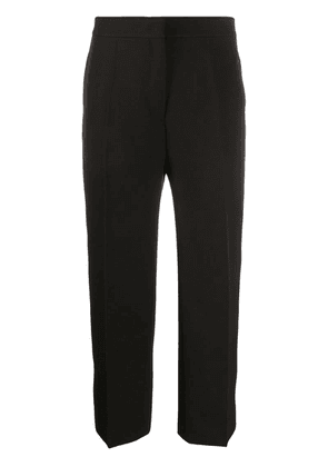 Jil Sander cropped tailored trousers - Brown