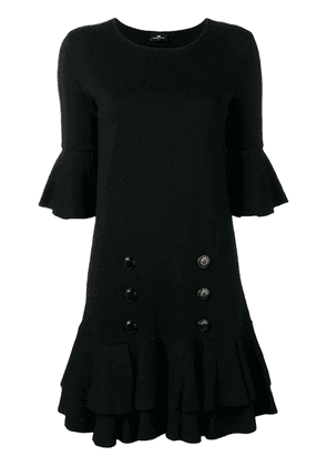 Elisabetta Franchi double-breasted dress - Lacca