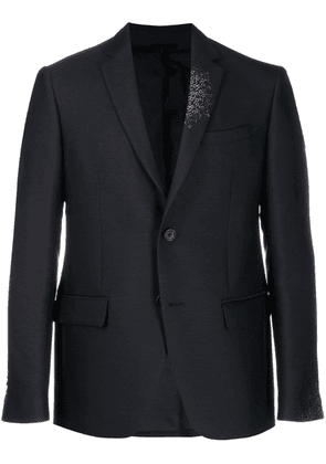 Fendi slim fit blazer jacket - Blue