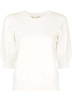 Autumn Cashmere knitted top - White