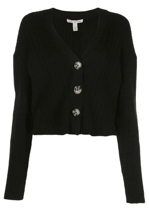 Autumn Cashmere knitted cardigan - Black