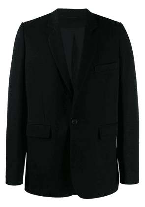 Ann Demeulemeester fitted blazer - Black
