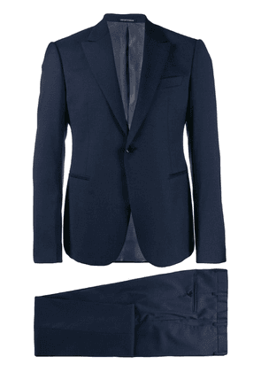 Emporio Armani classic two-piece suit - Blue