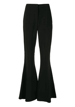 Carolina Herrera bell bottom trousers - Black