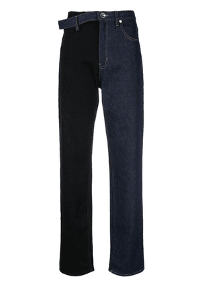 Maison Margiela double-denim jeans - Blue