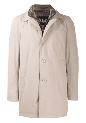 Herno lined coat - Neutrals