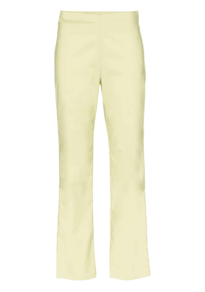 Miaou Maeve slash-waistband trousers - Green