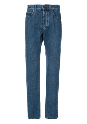 MSGM regular straight leg jeans - Blue