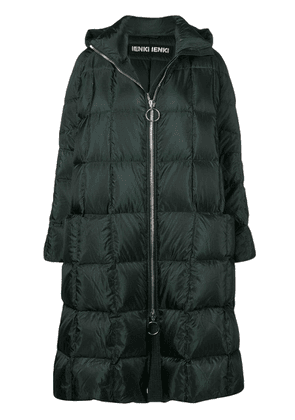 Ienki Ienki Pyramide hooded puffer coat - Green