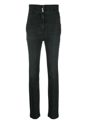 Dolce & Gabbana high waisted button jeans - Black