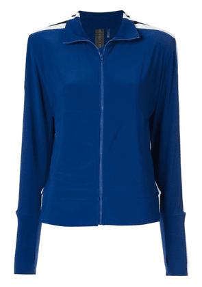 Norma Kamali side stripe jacket - Blue