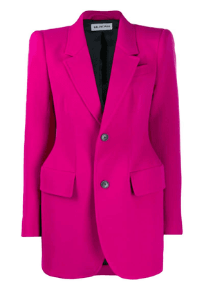 Balenciaga hourglass structured jacket - Pink