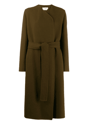 The Row long belted coat - Brown