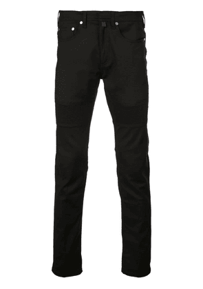 Neil Barrett slim-fit biker-style jeans - Black