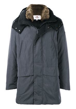 Peuterey hooded padded coat - Grey