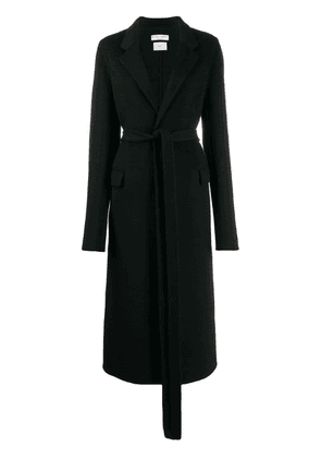 Bottega Veneta longline coat - Black