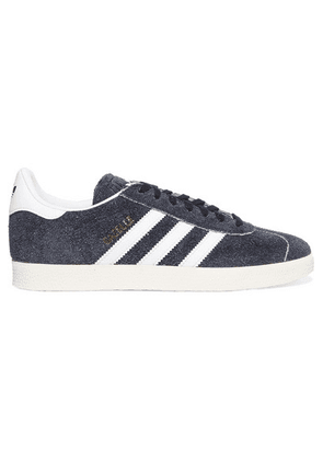 adidas Originals - Gazelle Suede And Leather Sneakers - Black