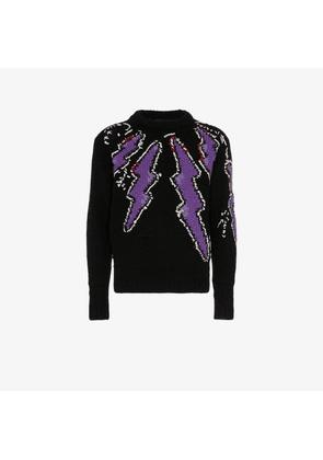 Prada Lightning bolt woollen jumper