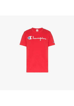 Champion CHAMP FRNT LOGO SS TEE RED