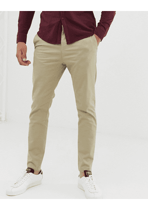 New Look skinny chinos in tan