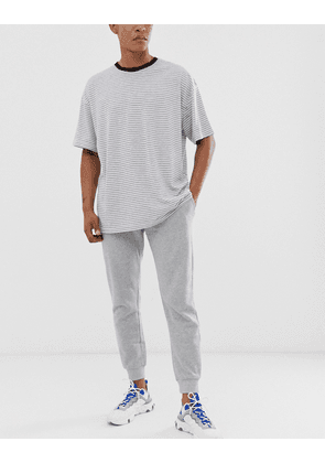 New Look basic jogger in grey
