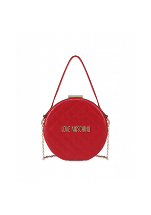 Round Evening Bag With Logo