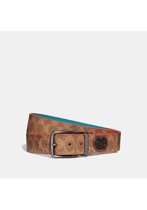 Coach Modern Active Cut-to-size Reversible Belt In Signature Canvas