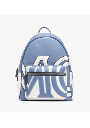 Stark Backpack In Contrast Logo Leather