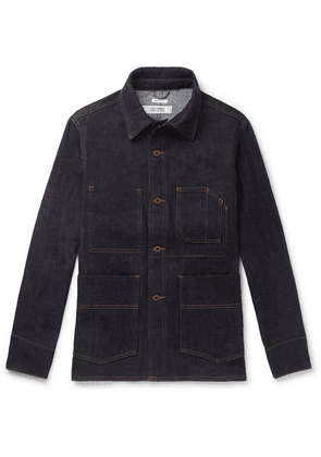 Freemans Sporting Club - Denim Chore Jacket - Dark denim