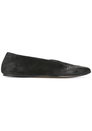 Marsèll pointed toe slippers - Black