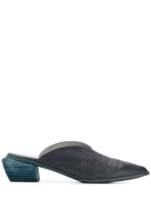Marsèll blue leather mules