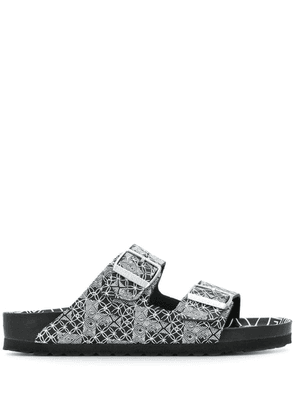 Birkenstock Arizona optic print sandals - Black
