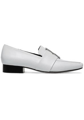 Dorateymur White Harput II 25 leather loafers