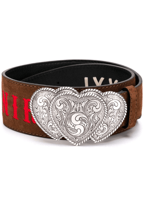 Kate Cate 'From Texas with Love' belt - Brown