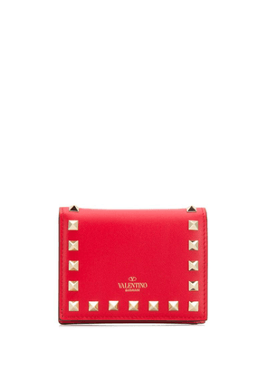 Valentino Valentino Garavani Rockstud leather wallet - Red