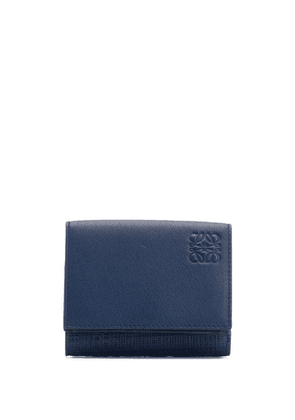 Loewe small vertical wallet - Blue