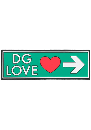Dolce & Gabbana love sign Sorrento DGPATCH - Green