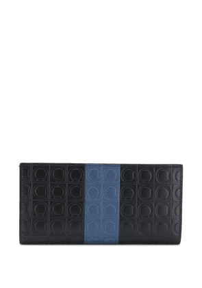Salvatore Ferragamo Gancio embossed wallet - Black