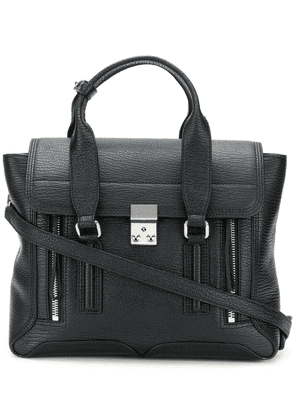 3.1 Phillip Lim Pashli Medium Satchel - Black