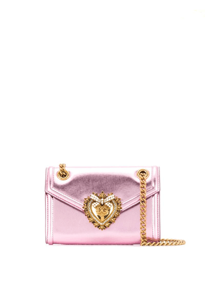 Dolce & Gabbana mini Devotion shoulder bag - Pink