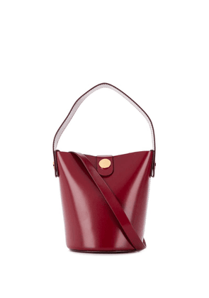 Sophie Hulme Nano Swing bucket bag - Red