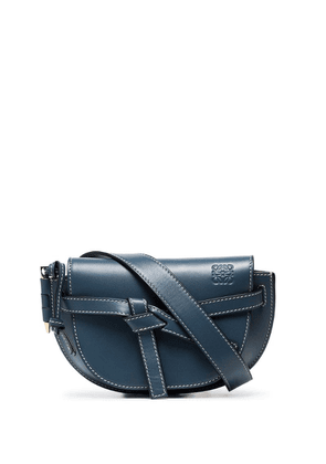 Loewe mini Gate belt bag - Blue