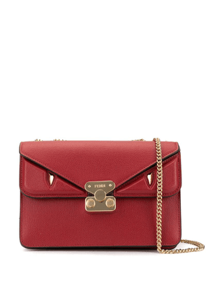 Fendi medium Bag Bugs crossbody bag - Red