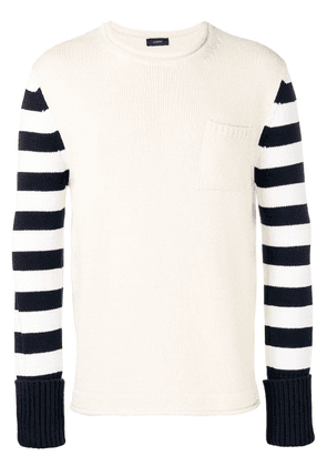 Joseph sailor knit jumper - Neutrals